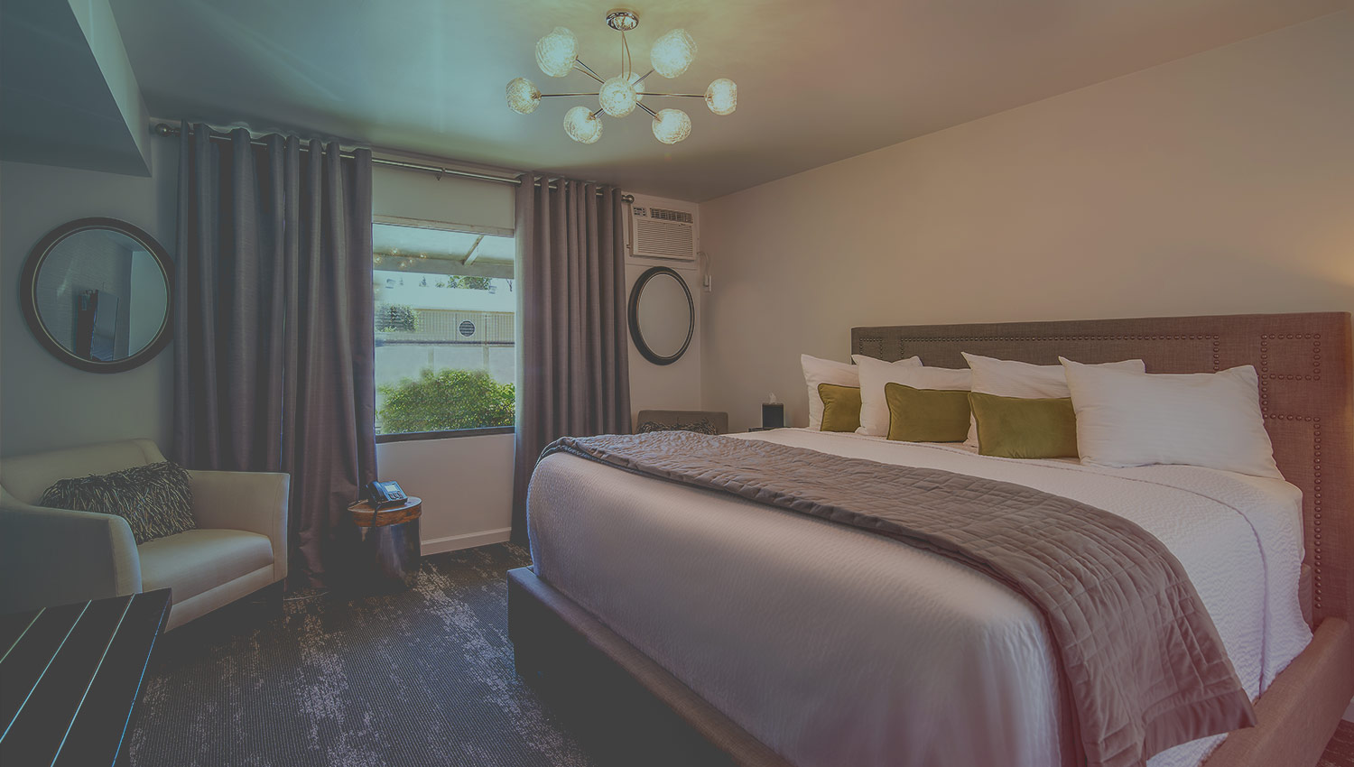 Relax in luxurious guest rooms at our eco-friendly boutique hotel