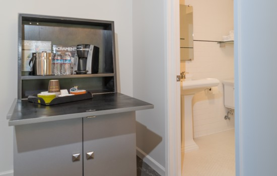 Welcome To The Greens Hotel - In-Room Coffee Station